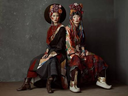 Tibetan fashion hits the Chinese capital Beijing runway